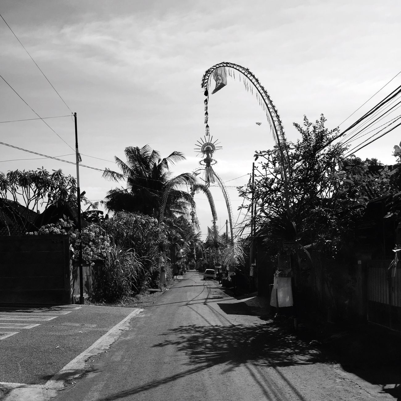 This called Penjor Blackandwhite