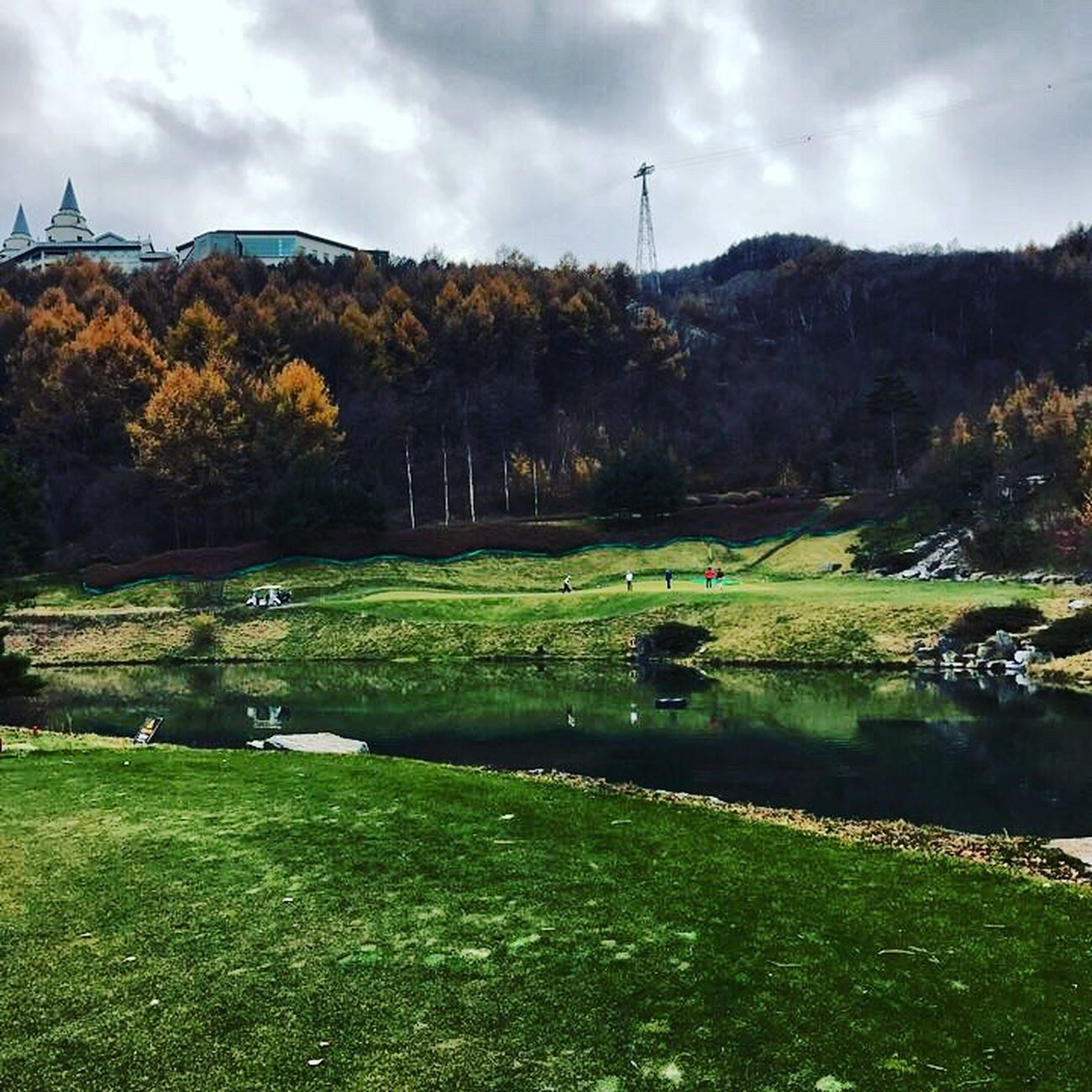 High One  Golf Course South Korea Fall
