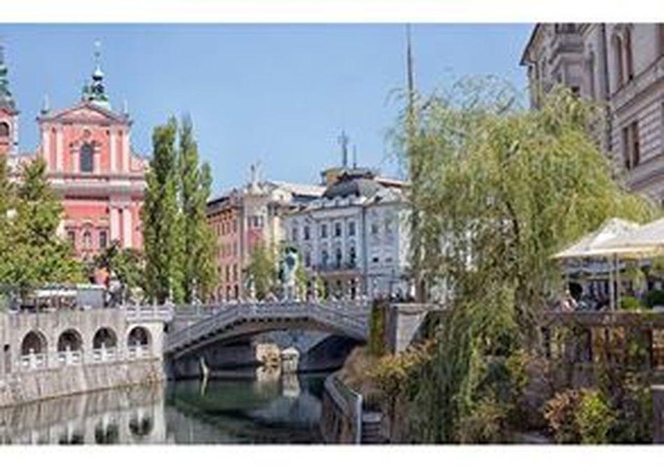 Architecture Capital Cities  City Lubljiana Slovenia Slovenja Tourism Travel Destinations