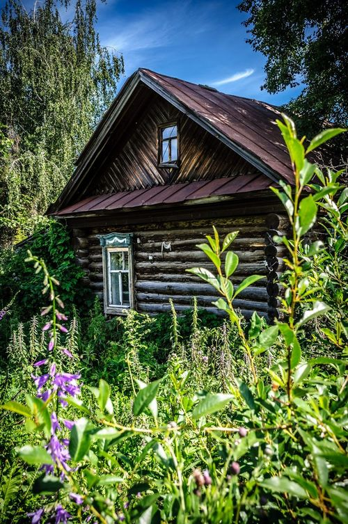 An old abandoned house in Civilsk, Chuvashia Civilsk Цивильск House Abandoned