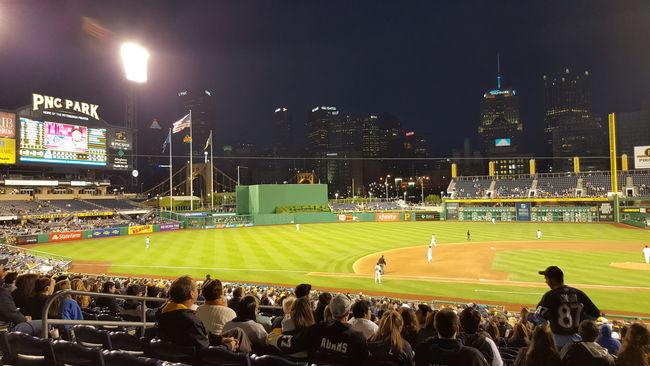 Pirates vs. Braves - PNC Park - Pittsburgh, PA Pittsburgh Life Pittsburgh Pittsburgh Pirates PNC Park Baseball