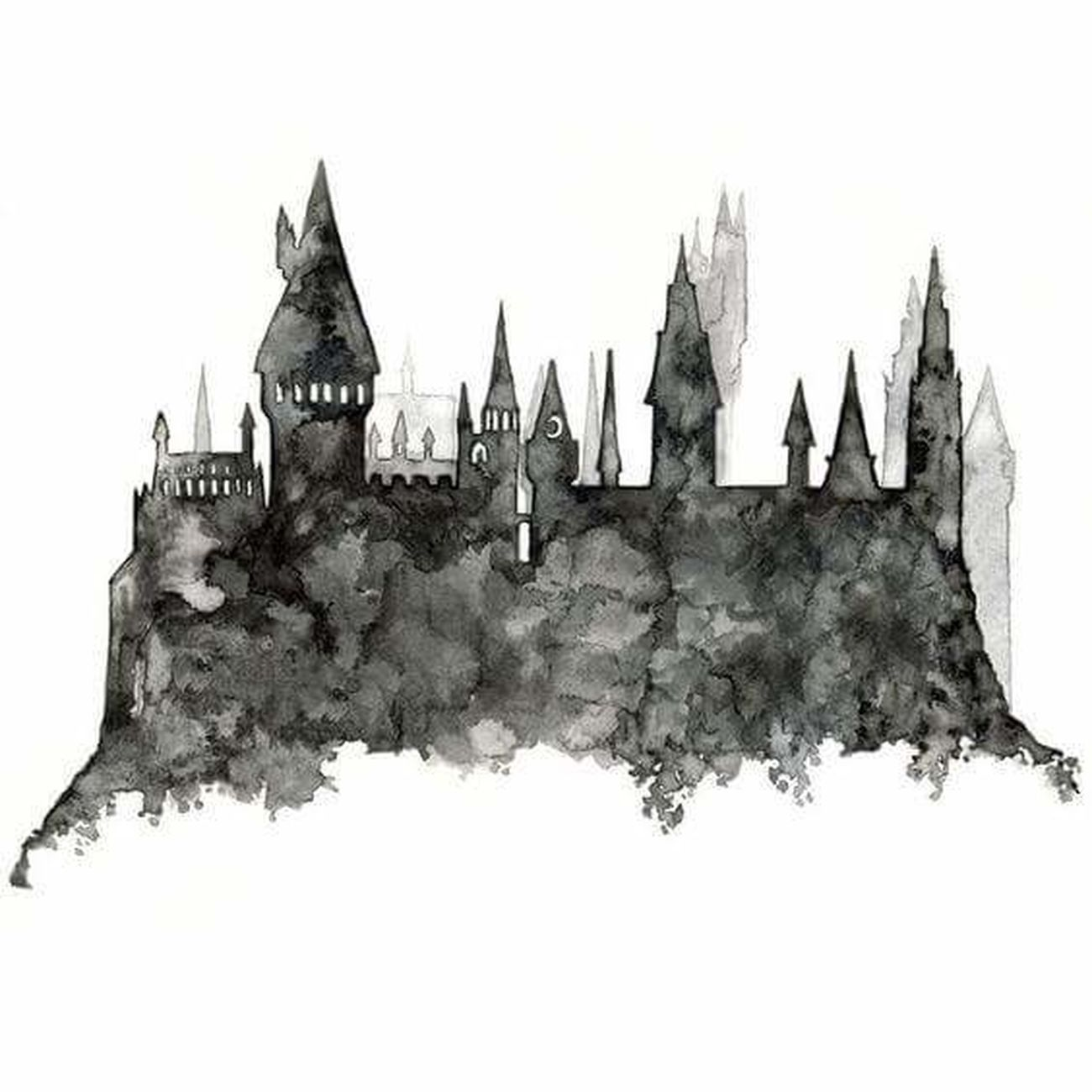 Drawing ✏ Acuarelas Harry Potter ❤