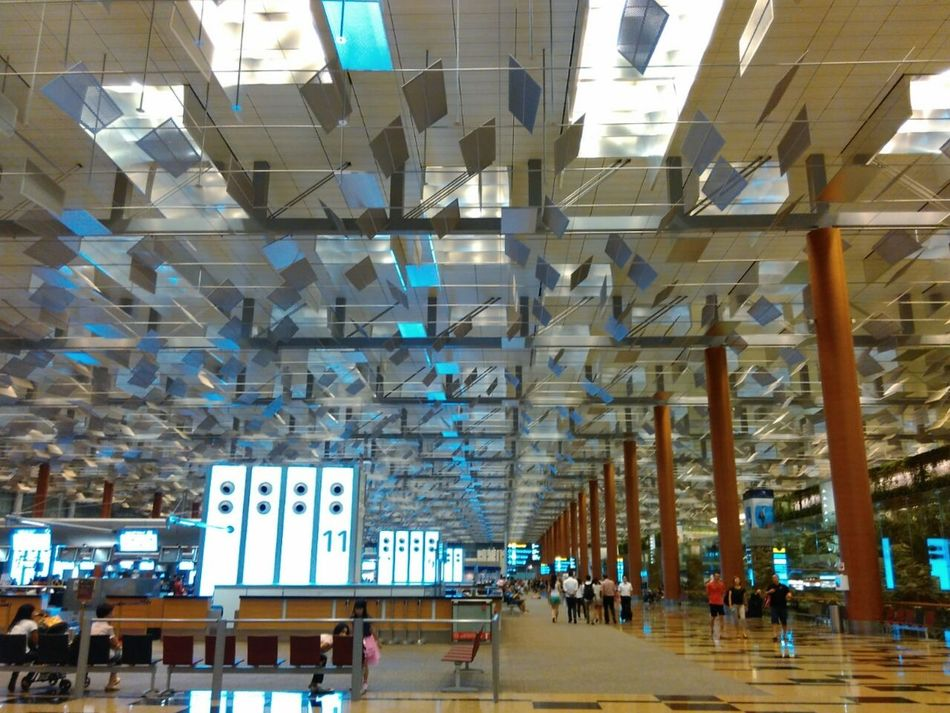 Architecture Interiorarchitecture Lines And Shadows Interiordesign Lookingup Changiairport Singapore