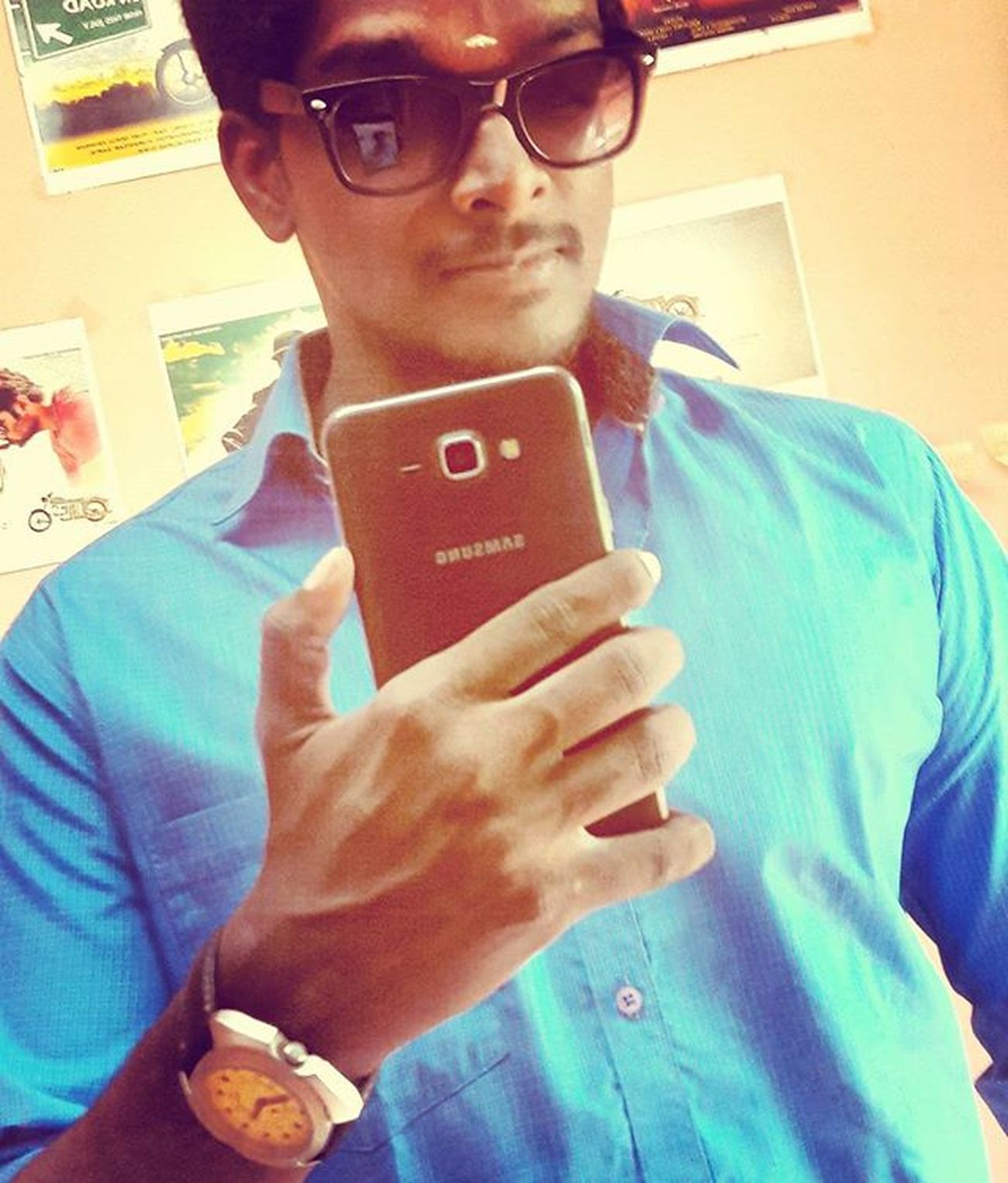 Selfie a day, keeps depression away 😜 Mirrorselfie Newmobile Samsung J7 Sunglass  Vincentchase Studio Innomad Graphicdesigner Filmmaker Biker Royalenfield Classic500 Mogappair Chennai Tamilnadu India Karaikal