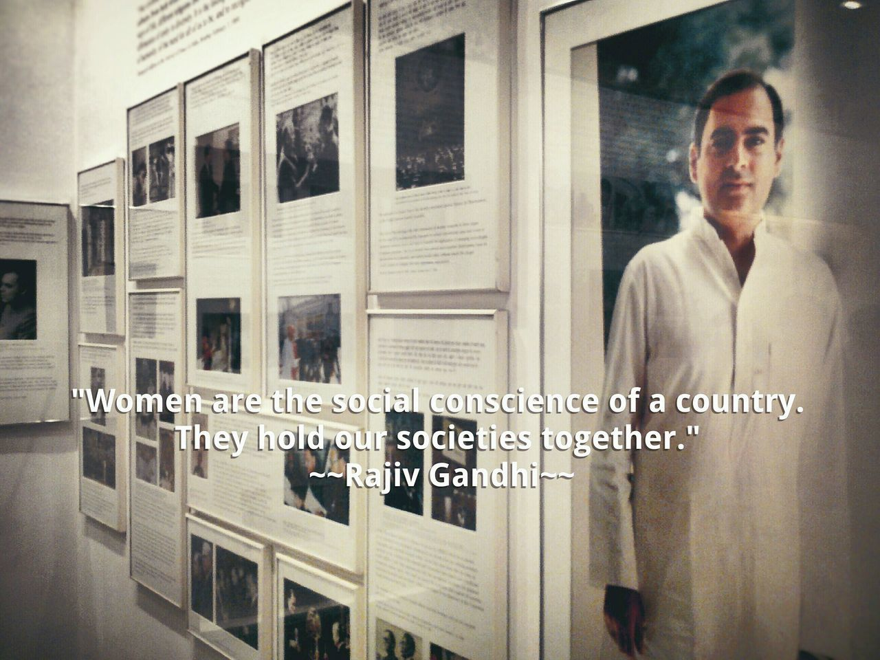 You educate a man, you educate a man.You educate a women, you educate a generation Responsibility Womenpower Women & Men Women Feminism The Human Condition Museum Rajiv Gandhi NotAllMen