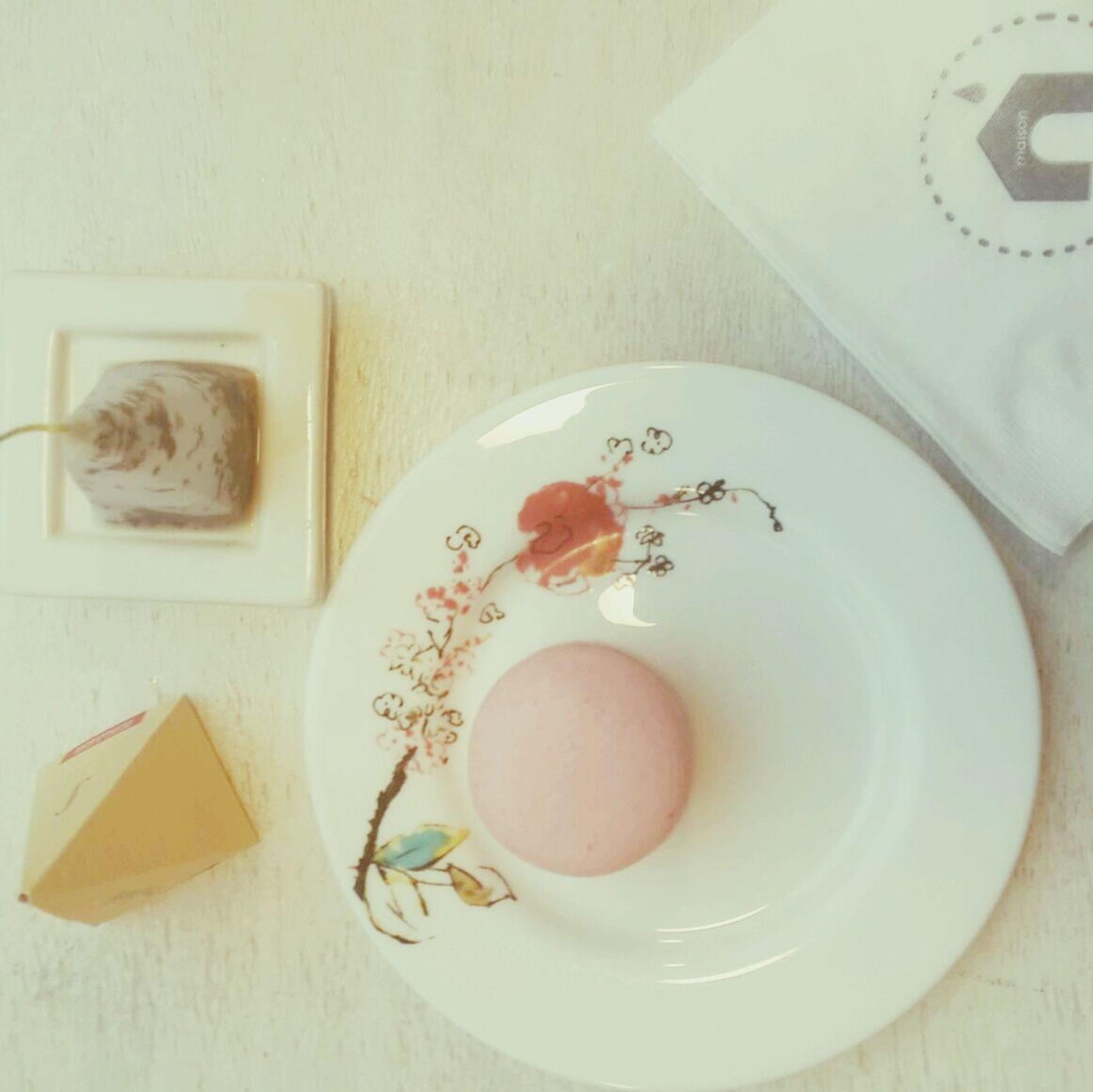 마카롱 Kiwi Lime Ginger tea Tea Break