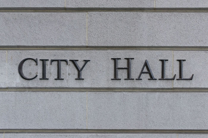 City Council City Hall Election Government Mayor Mayors Office Politics Sign Text Town Hall