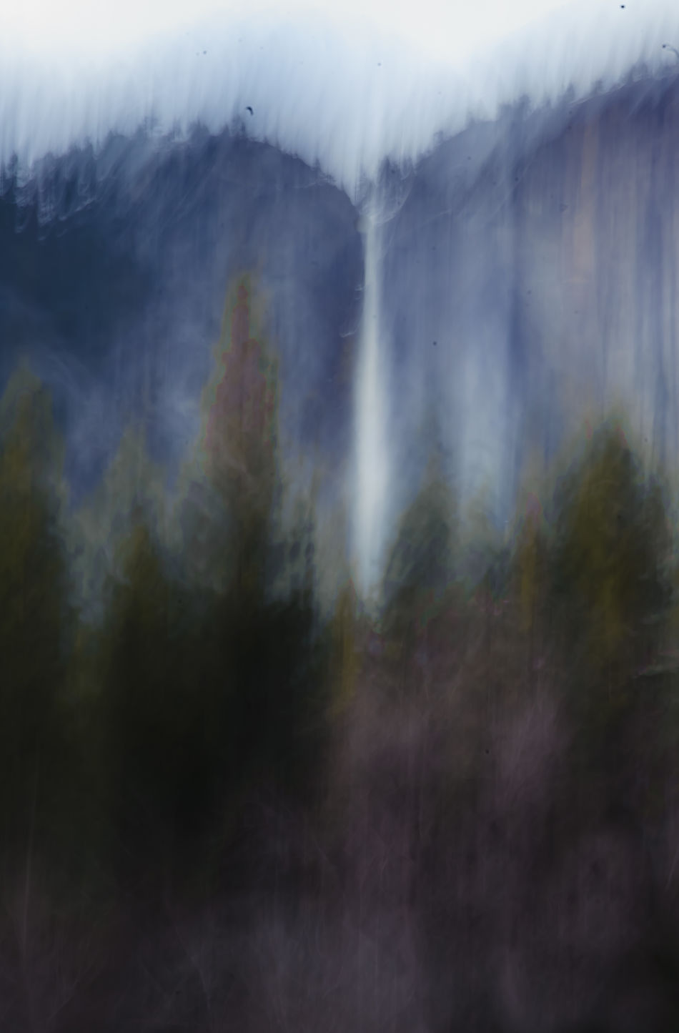Abstract Beauty In Nature Landscape Moonlight Moonlit Nature Night Night Scene Night Sky No People Outdoors Scenics Selective Focus Tranquility Waterfall Abstract Yosemite Yosemite Fall Yosemite National Park Pivotal Ideas