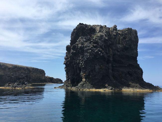 Ustica The Great Outdoors - 2016 EyeEm Awards Sea Landscape Sicily Sea Stack True Blue