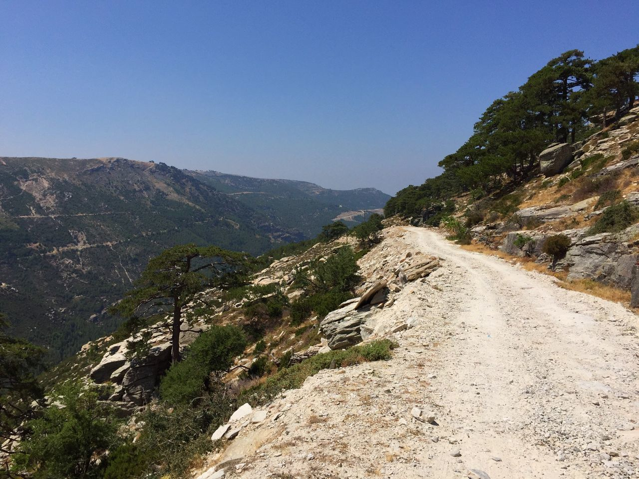 Thassos Exciting Driving in the Mountains Travel Iphone6 Dirtroads Dirt Road