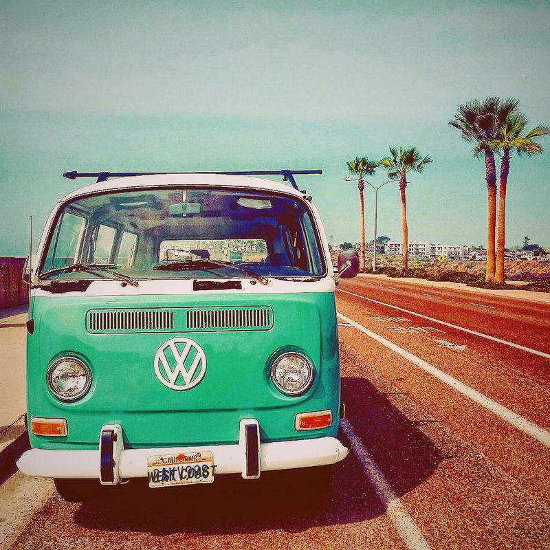Vintage edition 📸 deoboes Beachlife Debodoes Vintage Beach Travel Destinations Landscape Sky Sea Beachphotography Car Vacations Sunset Summertime Summer ☀