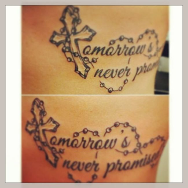 Getting This? Tattoo Ink Tatt Slingink art cross meaningful strength thebeautyinsimplethings livelifetothefullest tommorrowisneverpromised