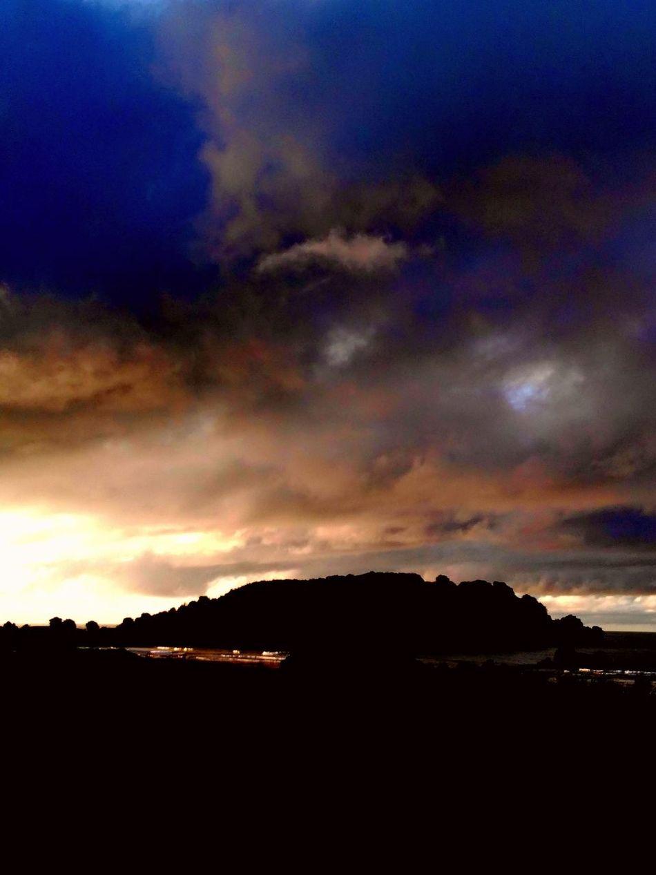 Sunset Clouds And Sky The Mount Tauranga Nz Leisure Island
