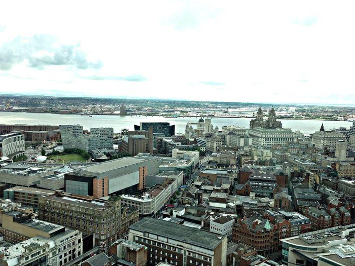 Liverpool City Sea Sun