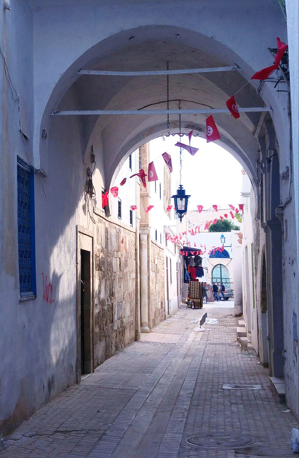 Day Architecture Tn Tunisian Flag