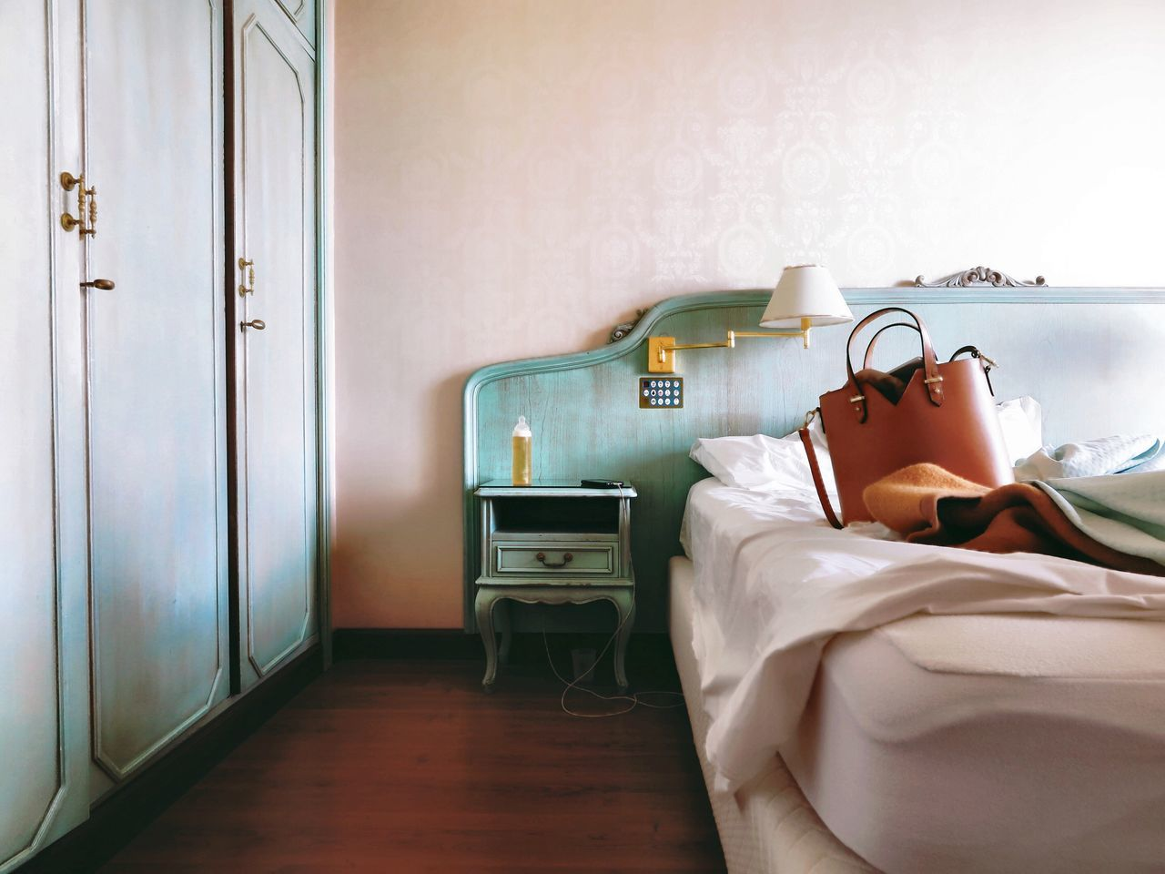 Home Interior Hotel Room Hotel Hotel Life Hotel View Old Buildings Indoors  Bed No People Bedroom Day Bag Baby Bottle Bottle Interior Interior Design Interior Views Holidays Still Life Lifestyles Old But Awesome Italy Lago Maggiore Let's Go. Together.