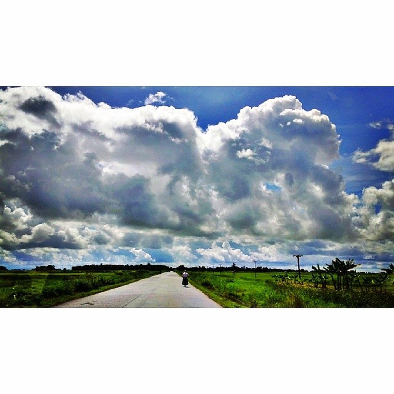 ခရီးသြားမိုးတိမ္ Jipsy Clouds Cloud Sky travelgram instatravel myanmar igersmyanmar