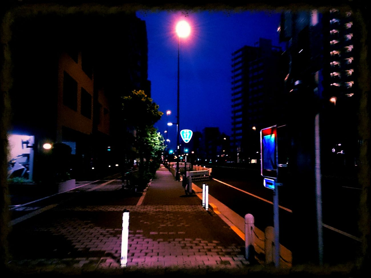 Streetphotography Midnight Route 17