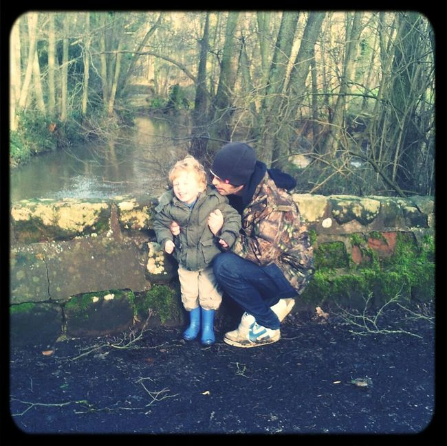 My Family A Walk In The Woods Me And My Daddy  I Love My Daddy <3