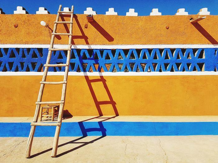 Morocco Maroc Travel Merzouga Atlas Mountain Maroc ❤️ Tourism Desert Architecture Travel Destinations Sahara Colourful Wall Ladder