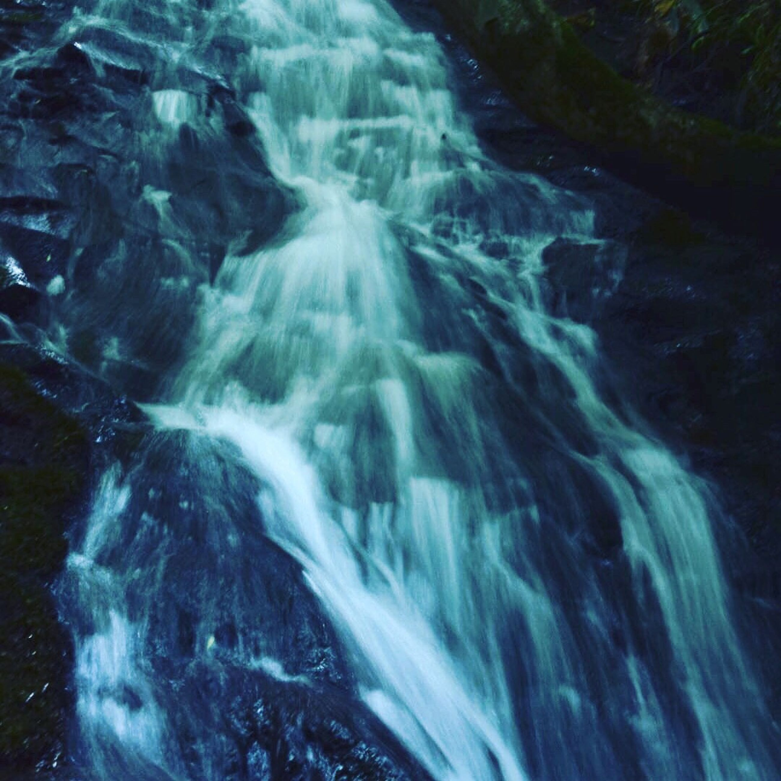 waterfall, rock - object, no people, water, nature, beauty in nature, scenics, outdoors, day