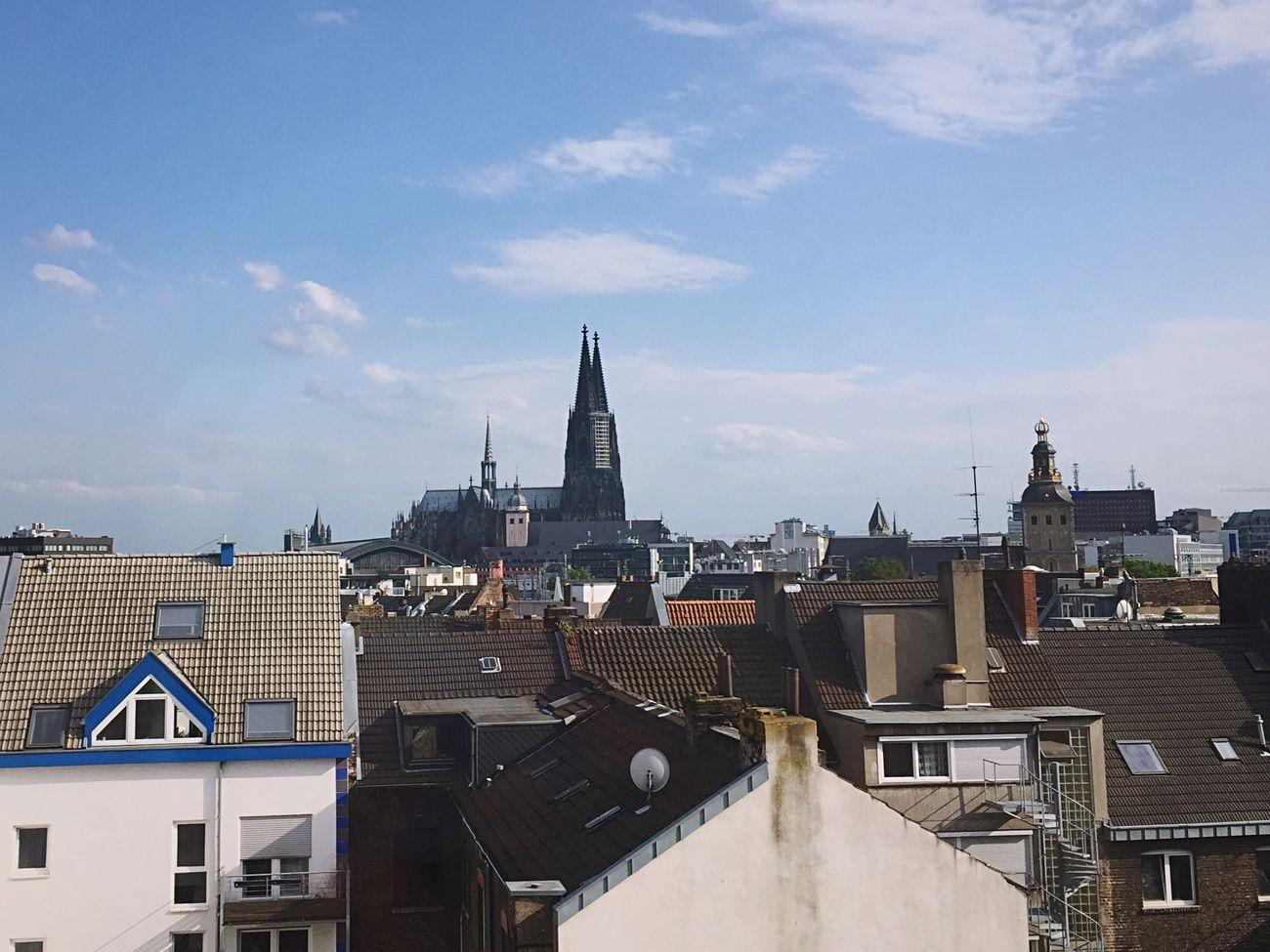 Kölner Dom Cologne Köln Liebedeindstadt Architecture Hinterhof Urbanism Urban (null)Sky Roof City Cloud - Sky Outdoors Day Cityscape Skyline ♥