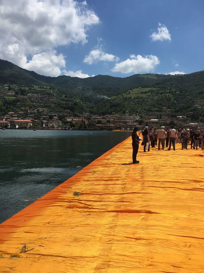 The Floating Piers First Eyeem Photo