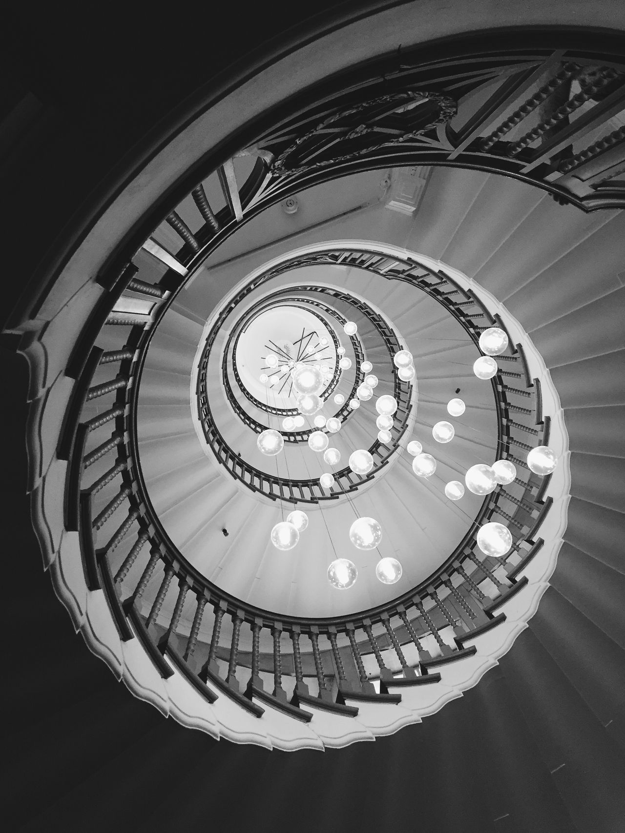 Stairs Spiral Built Structure Architecture Steps And Staircases Monochrome Photography Architecture_collection Architectural Detail ArchiTexture Architecturelovers Architecturephotography My Year My View Stairs London