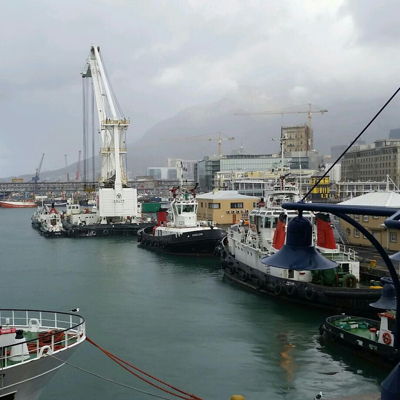V & A Waterfront I Love Cape Town Tug Boats