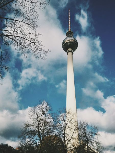 Alexanderplatz Berlin Alexanderplatz Tower Architecture Berlin Branch Broadcasting Building Exterior Built Structure City Cloud - Sky Communication Global Communications Low Angle View Museum Museumisland Nature Outdoors Sky Sphere Tall - High Television Tower Tourism Tower Travel Destinations Tree