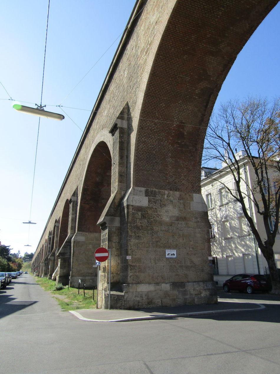 Liesing Vienna Building Exterior Engineering Bogen Arch Water Architecture Built Structure Aqueduct Aquädukt