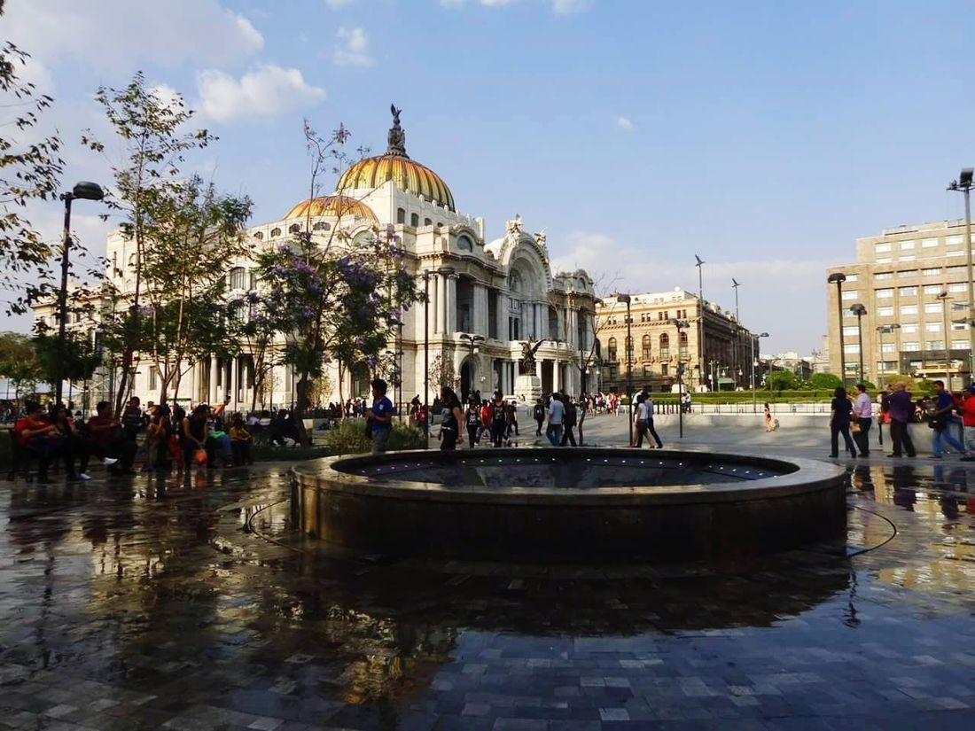 Religion Tourism Architecture History Travel Destinations Sky Mexico City Bellas Artes, México D.F. Architecture