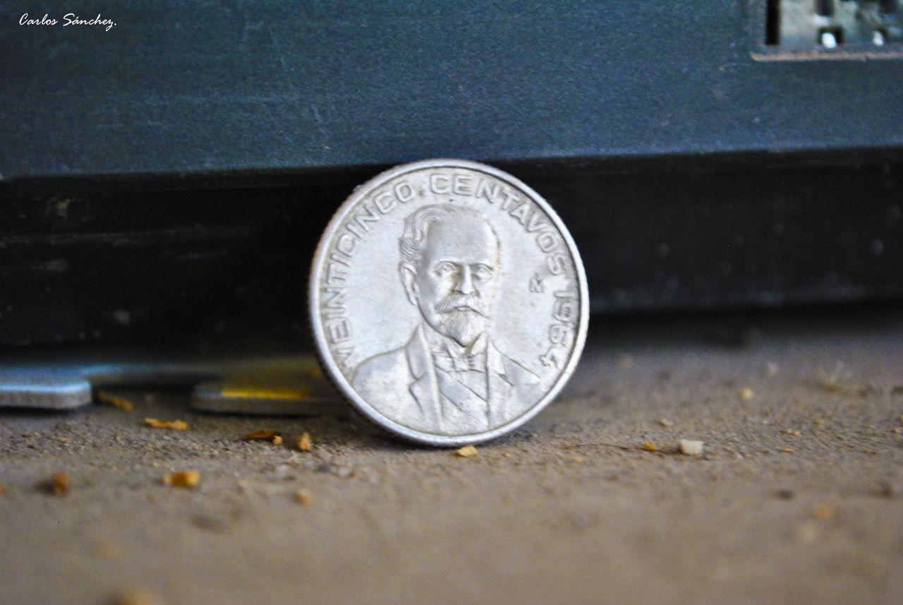 25 centavos México 1964 Moneda Coin Money Dinero Coleccion Cotidiano Nikon D3000