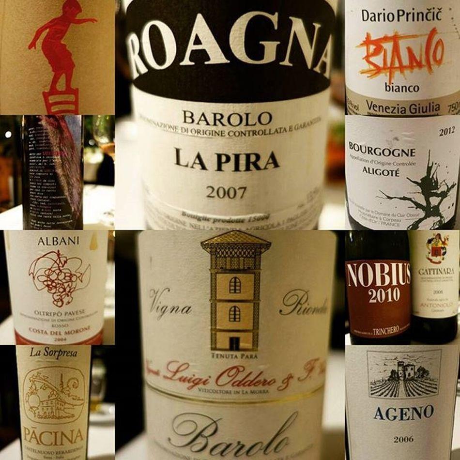 遊ばれた。 Wine Vinenature Ginza クイントレーベル Trinchero Pacina Lapira Roagna Agricola Catinara Albani Barolo Ageno Princic Viva_italiawine
