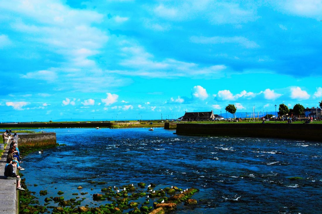 Amazingplace Clouds And Sky Galway Ghibli Ireland Lovely Weather Lovethiscountry Sea Sea And Sky