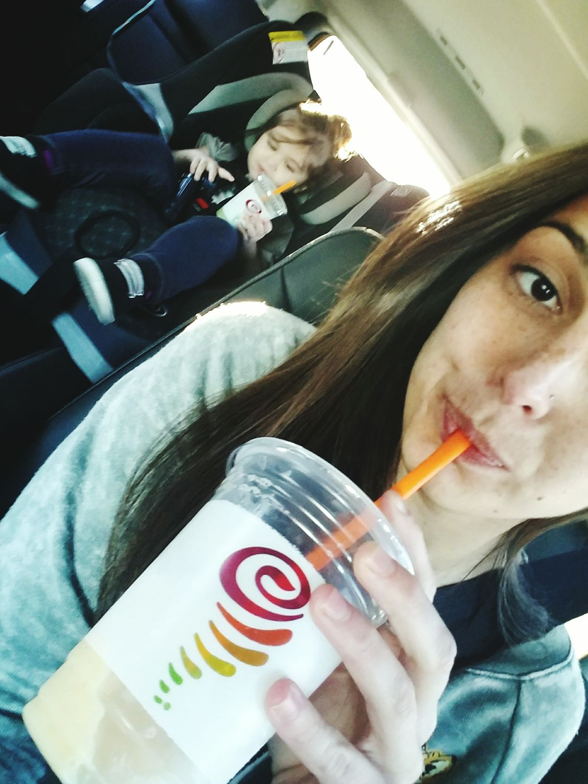Mother & Daughter Jambajuice Loving Life! Best Kid Ever <3<3<3<3 Mix Yourself A Good Time
