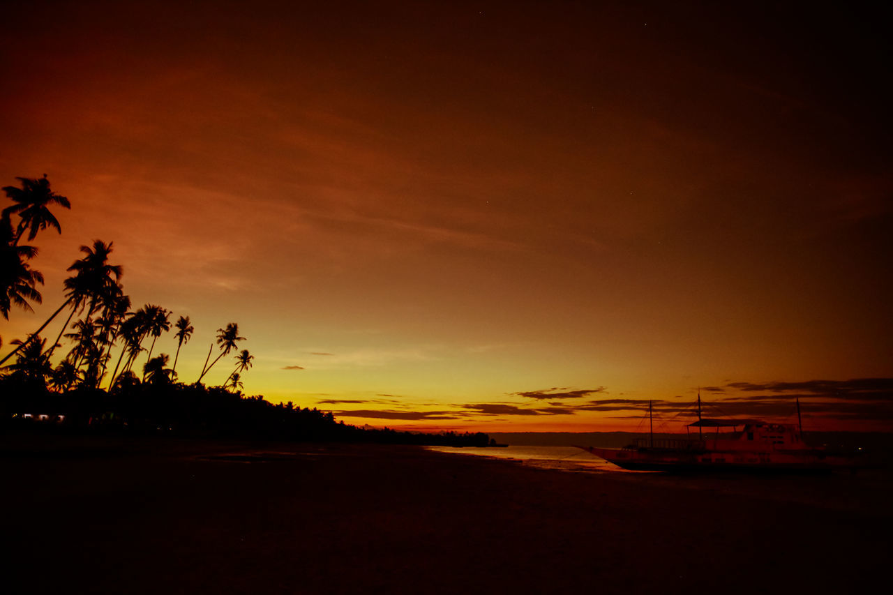 Atmosphere Atmospheric Mood Beach Cloud Colour Palette Clouds And Sky Cloudscape Cloudy Dramatic Sky Light Majestic Moody Sky Orange Color Outdoors Palm Trees Palms Philippines Silhouette The Magic Mission Storm Cloud Sun Sunset Tranquil Scene TakeoverContrast