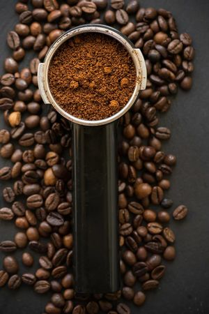 Coffee time Coffee - Drink Drink Roasted Coffee Bean Food And Drink Espresso Coffee Cup Raw Food Brown Refreshment High Angle View Roasted Close-up Directly Above No People Bean Studio Shot Photoblogger Taking Photos Day Indoors
