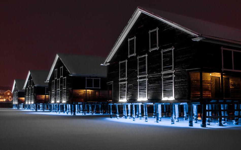 Beautiful stock photos of sweden, architecture, illuminated, night, building exterior