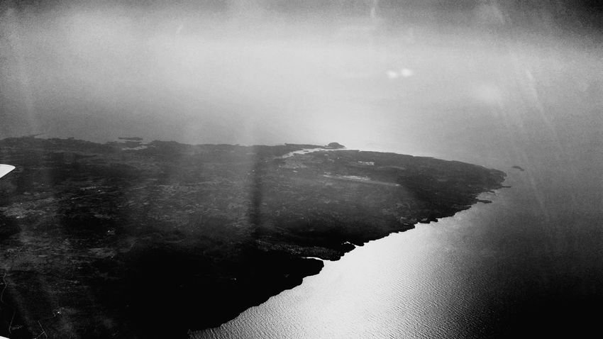 Flying from Menorca to Bilbao, Aerial views. 2015, July 3rd. Menorca Bilbao Flying Aerial Aerial View Aerial Photography Blackandwhite Landscape