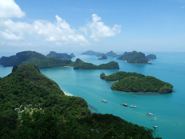 Samui, Thailand Beauty In Nature Blue Island Nature No People Scenics Sea Travel Destinations Water