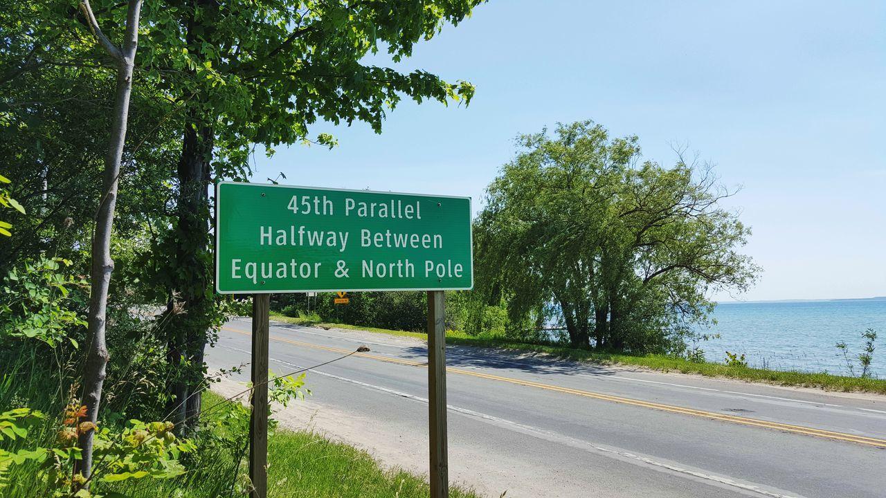 45th Parallel Lake View Leland Scenic Road Michigan