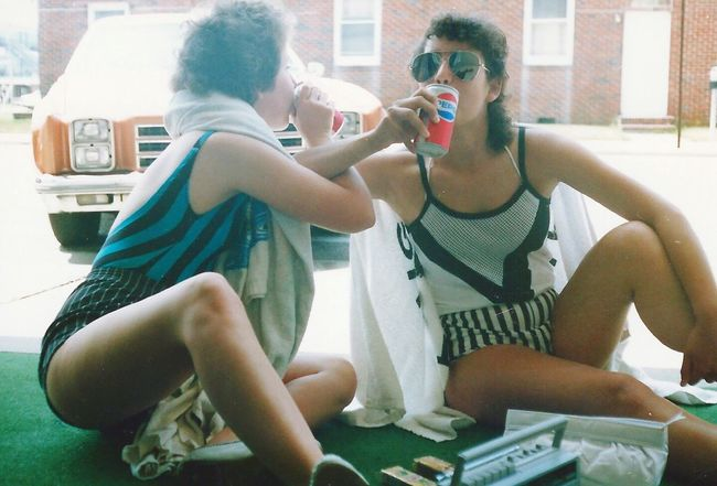 Girls Drinking Pepsi Outdoor Photography Sitting Outside Two Teenagers Ready For Summer Going Swimming Wildwood New Jersey Eyeem Photography Eyem Collection EyeEm EyeEm Gallery Eyeem Community Eyeem Market Fun Photography Fun In The Sun The OO Mission On The Way Pepsi Cola People Together Two Is Better Than One