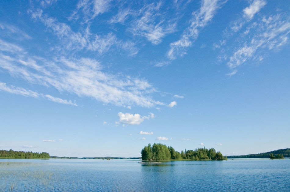 Beauty In Nature Blue Day Finland Summer Lake Lake View Landscape Nature No People Outdoors Scenics Sky Social Issues Tranquil Scene Tree Water First Eyeem Photo