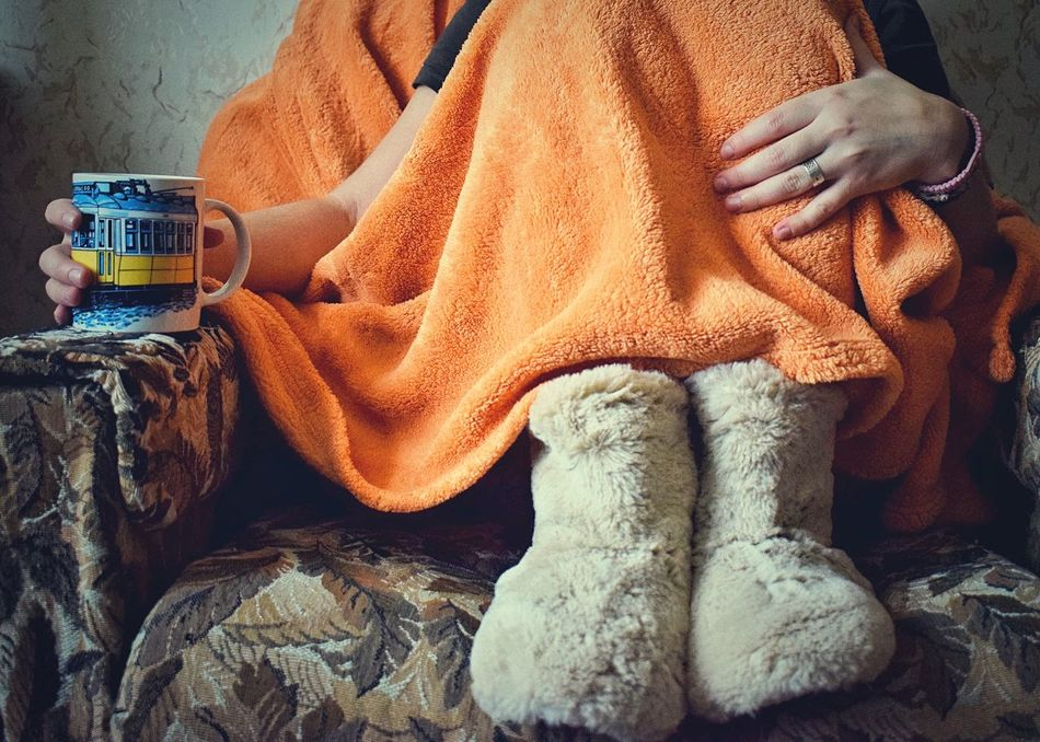 Morning ☕️☀️ Always Be Cozy Low Section One Person Real People Human Leg Close-up Day Human Body Part People Warm Warmth Staying Warm Morning Morning Coffee Cup Legs Cosy House Shoes Morningcoffee Winter Wrapped In A Blanket Women Around The World TCPM