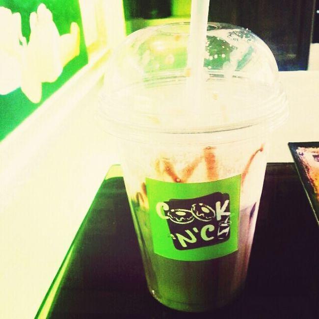 After School.. Enjoy Drinking a Milkshake Nutella...