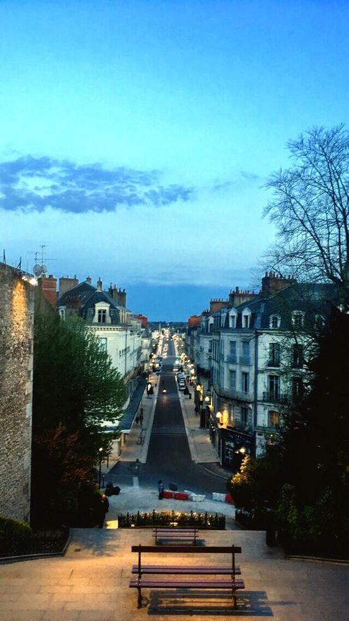 City Blois France Sky Architecture