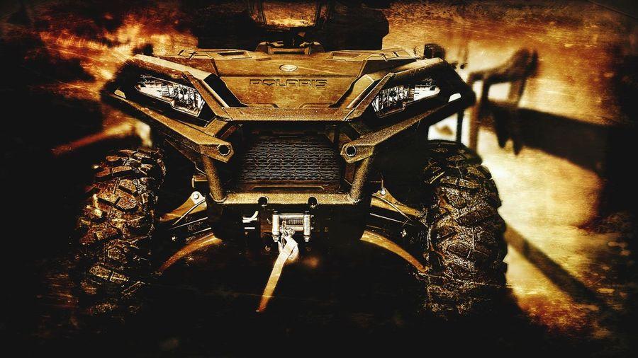 New Plaris Sportsman XP 1000. ATV Ride Polaris Polaris Sports Man Offroad