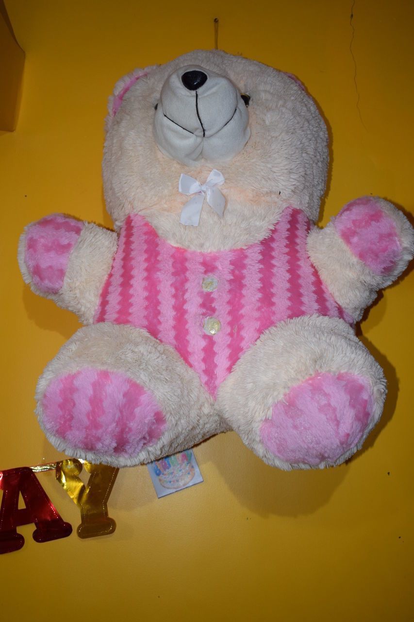 childhood, stuffed toy, toy, teddy bear, animal representation, indoors, happiness, cheerful, no people, close-up, day
