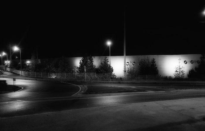 Zona industrial da Zicofa em Leiria Night Illuminated No People Architecture Leiria Portugal Leiria ındustry